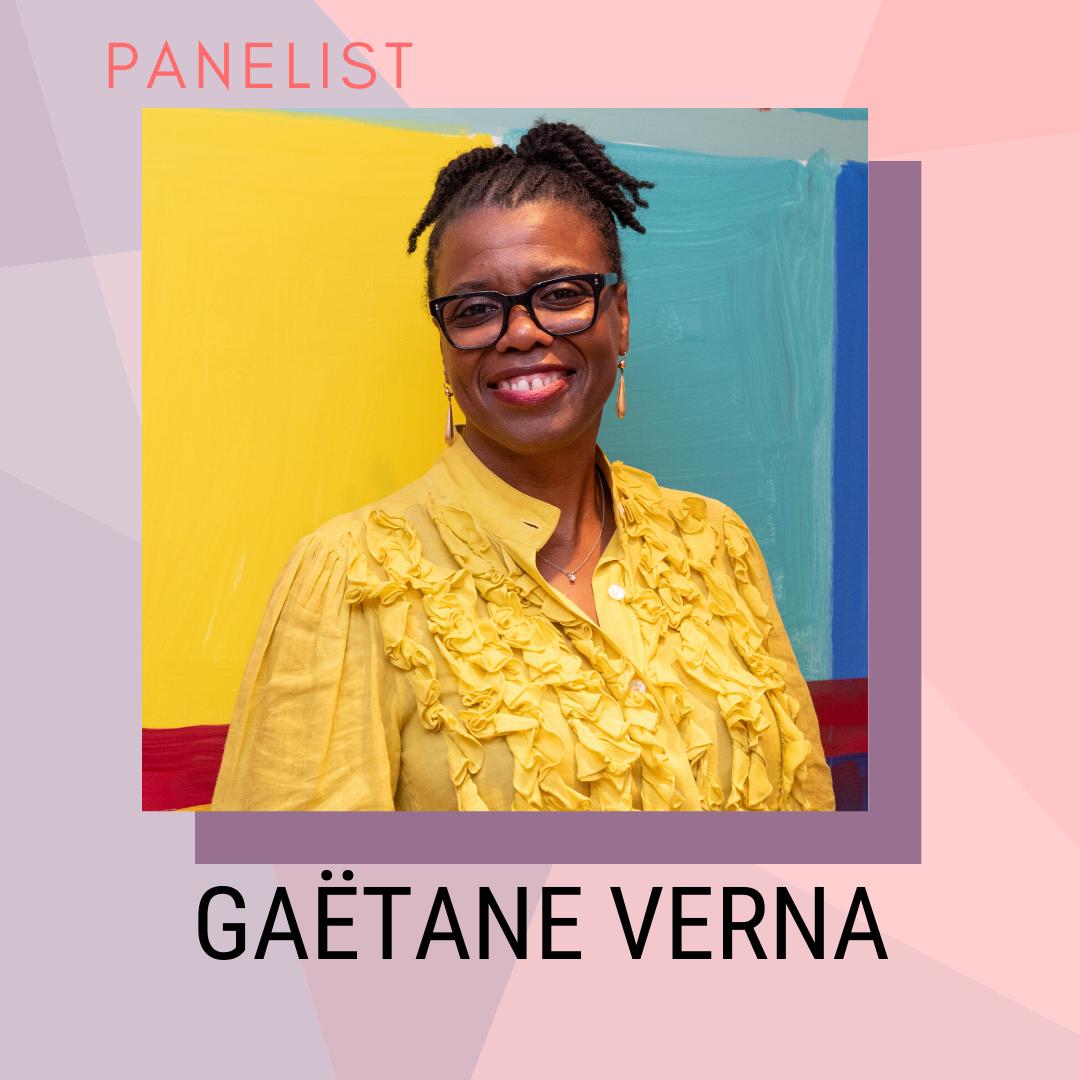 Panelist: Gaëtane Verna