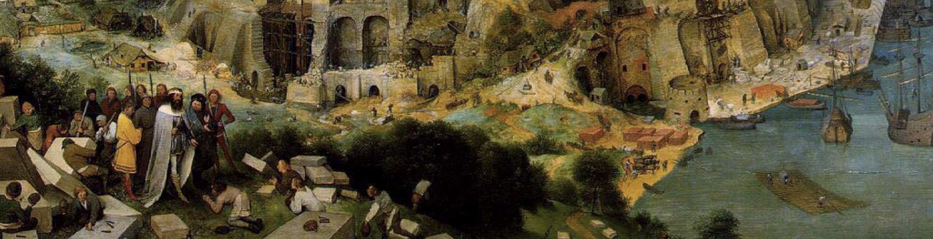 Tour de Babel unique roi Nemord brique Pieter Bruegel l'Ancien