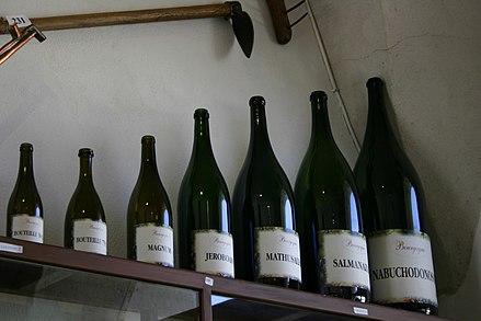 bouteille vin Nabuchodonosor empereur