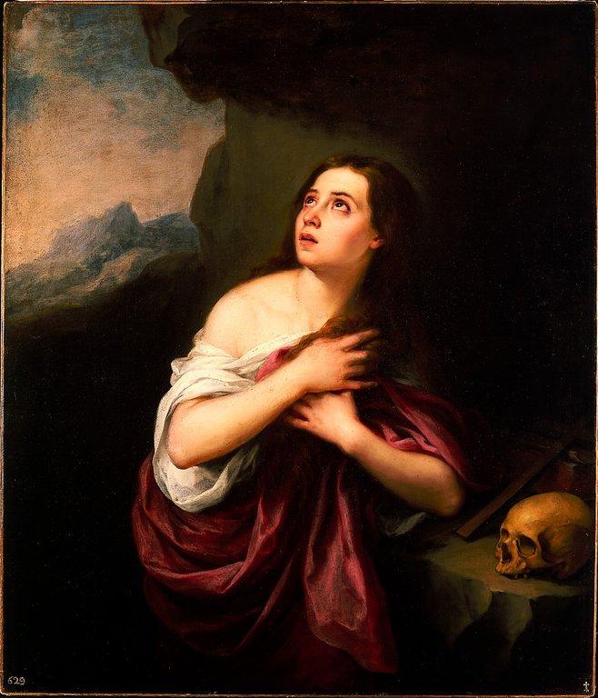 Marie-Madeleine pénitente témoin résurrection Christ Bartolomé Esteban Murillo