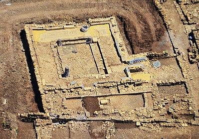 Photographie ruines synagogue Magdala Galilée