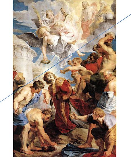 Lapidation Saint Etienne premier mort martyr Pierre Paul Rubens