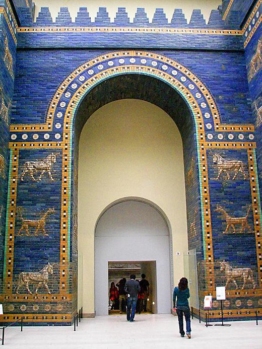 Porte d'Ishtar archéologie Babylone Déesse éponyme