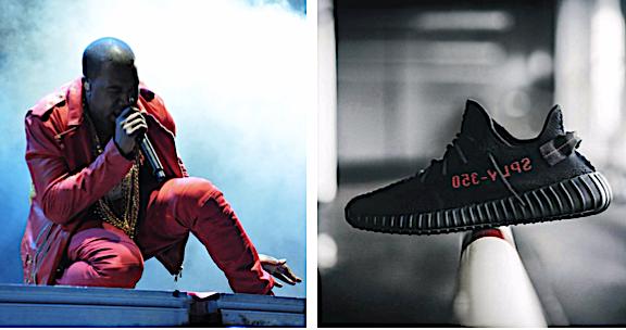 Rappeur américain Album Yeezus marque Yeezy dieu Kanye West