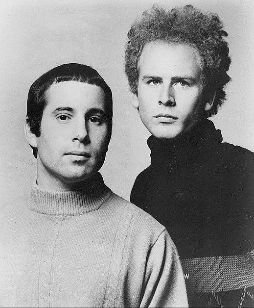 Chanteurs musique The Sound of Silence Simon & Garfunkel
