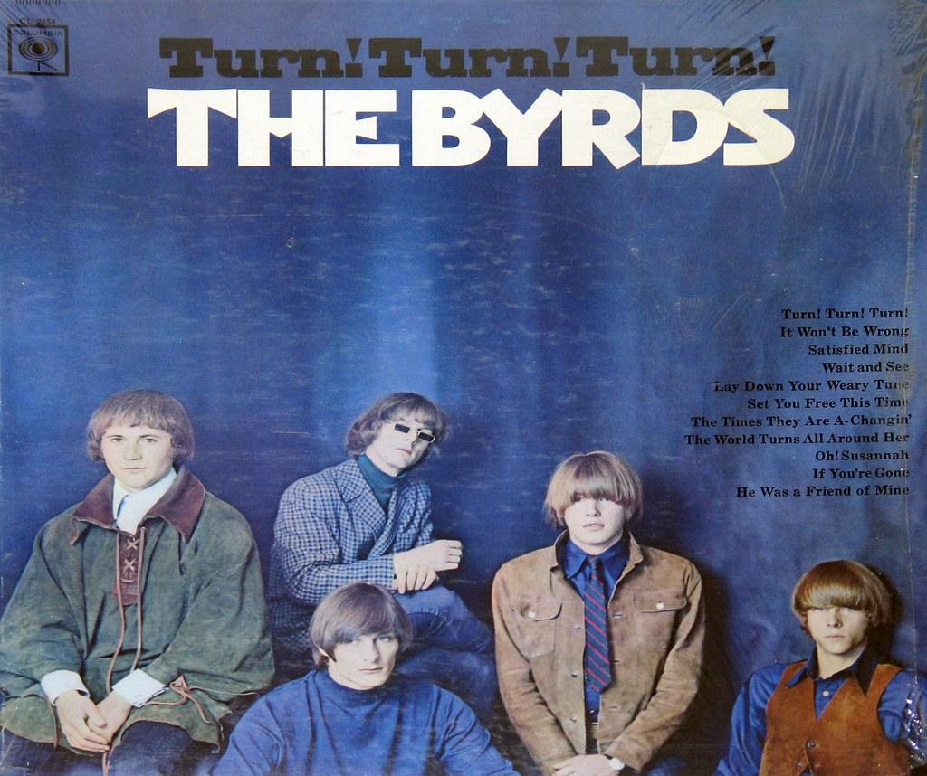 Pochette disque The Byrds Turn turn turn