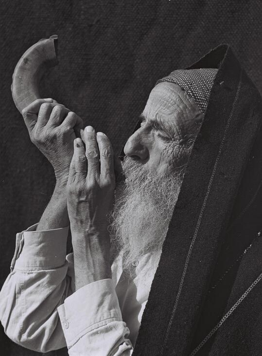 Shofar son einstrument corne de bélier fête Roch Hachana