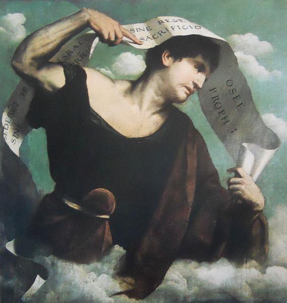 Prophète Osée mari trompé Alessandro Bonvicino Il Moretto