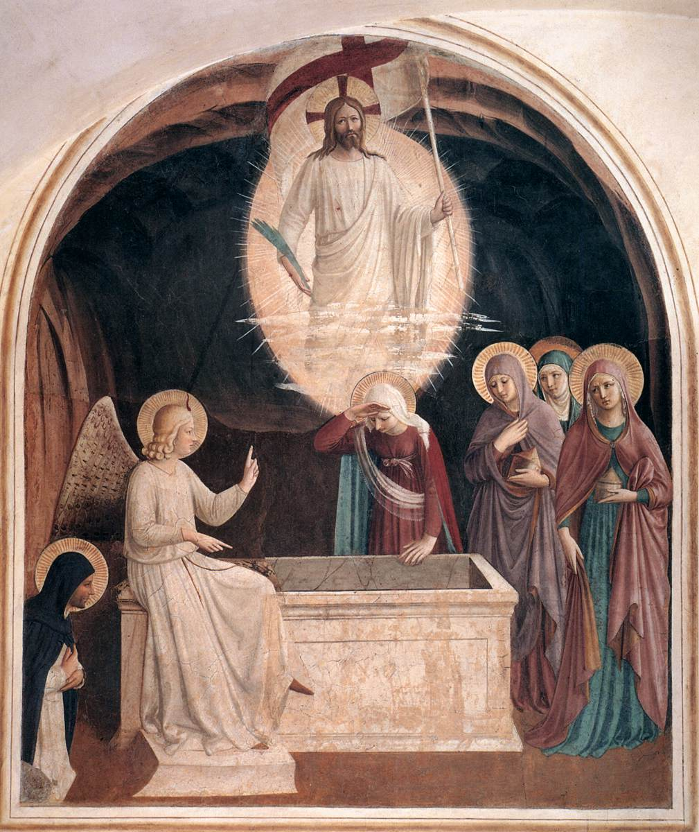 Resurrection Christ femmes tombeau crypte Fra Angelico