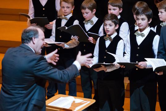 Petits chanteurs Pueri Cantores La marche des rois cathédrale Saint Louis