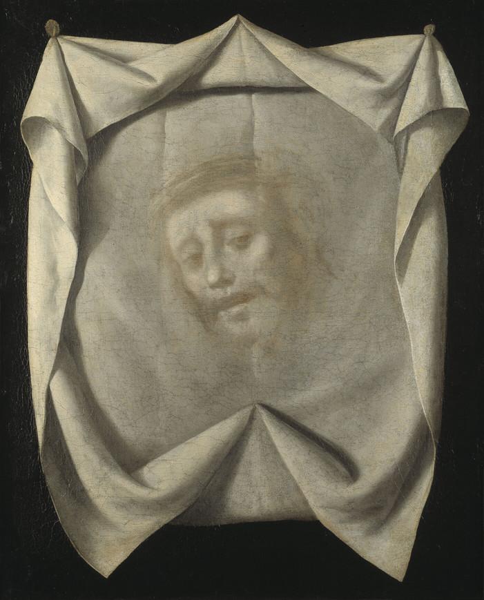 Sainte Face Jésus linge couronne épines Francisco de Zurbarán