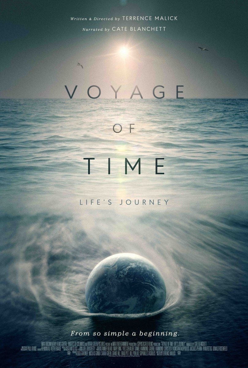 voyage of time film affiche terrence malick