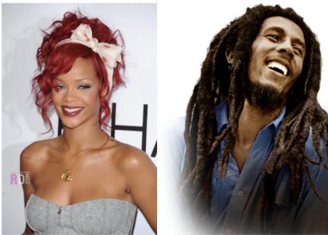 Rédemption Song chanteurs Bob Marley Rihanna Playing for Change
