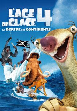 Film affiche dessin-animé L'âge de glace Manny