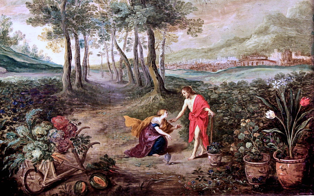 Apparition Christ Marie-Madeleine Jan Brueghel le Jeune