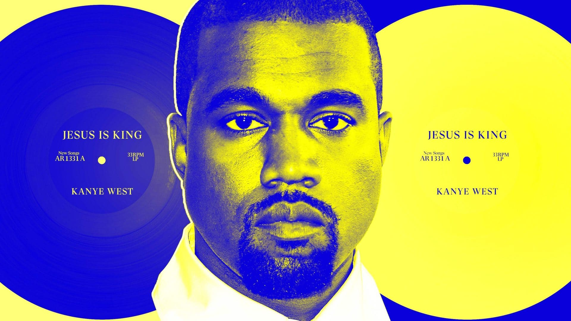 kanye west album jesus is king jaune bleu