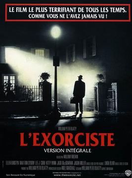 affiche film horreur américain peur l'Exorciste