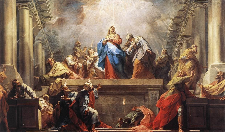 Descente esprit saint pentecote Jean II Restout