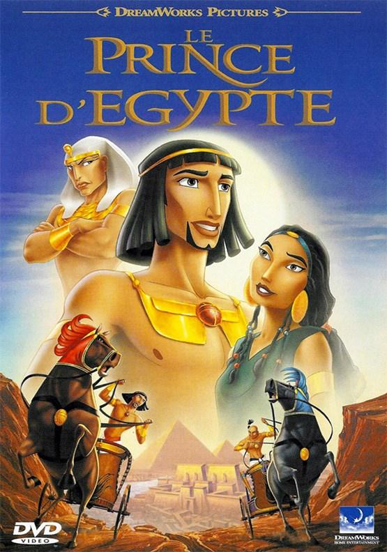 dessin-animé animation américain DreamWorks Le Prince d'Égypte