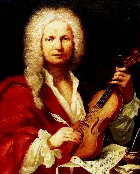 vivaldi portrait violon coiffe blanche
