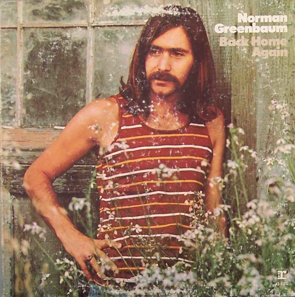 norman greenbaum couverture disque back home again