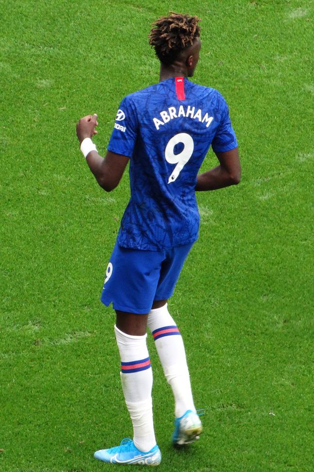 Abraham équipe foot bleu