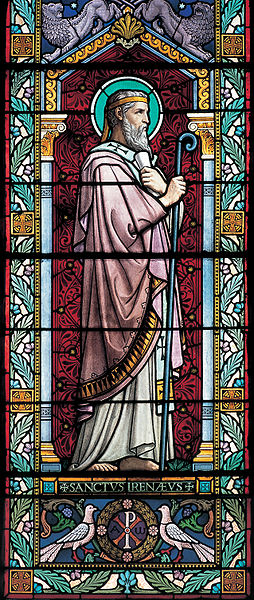 Saint Irénée Lyon vitrail Église Lucien Bégule