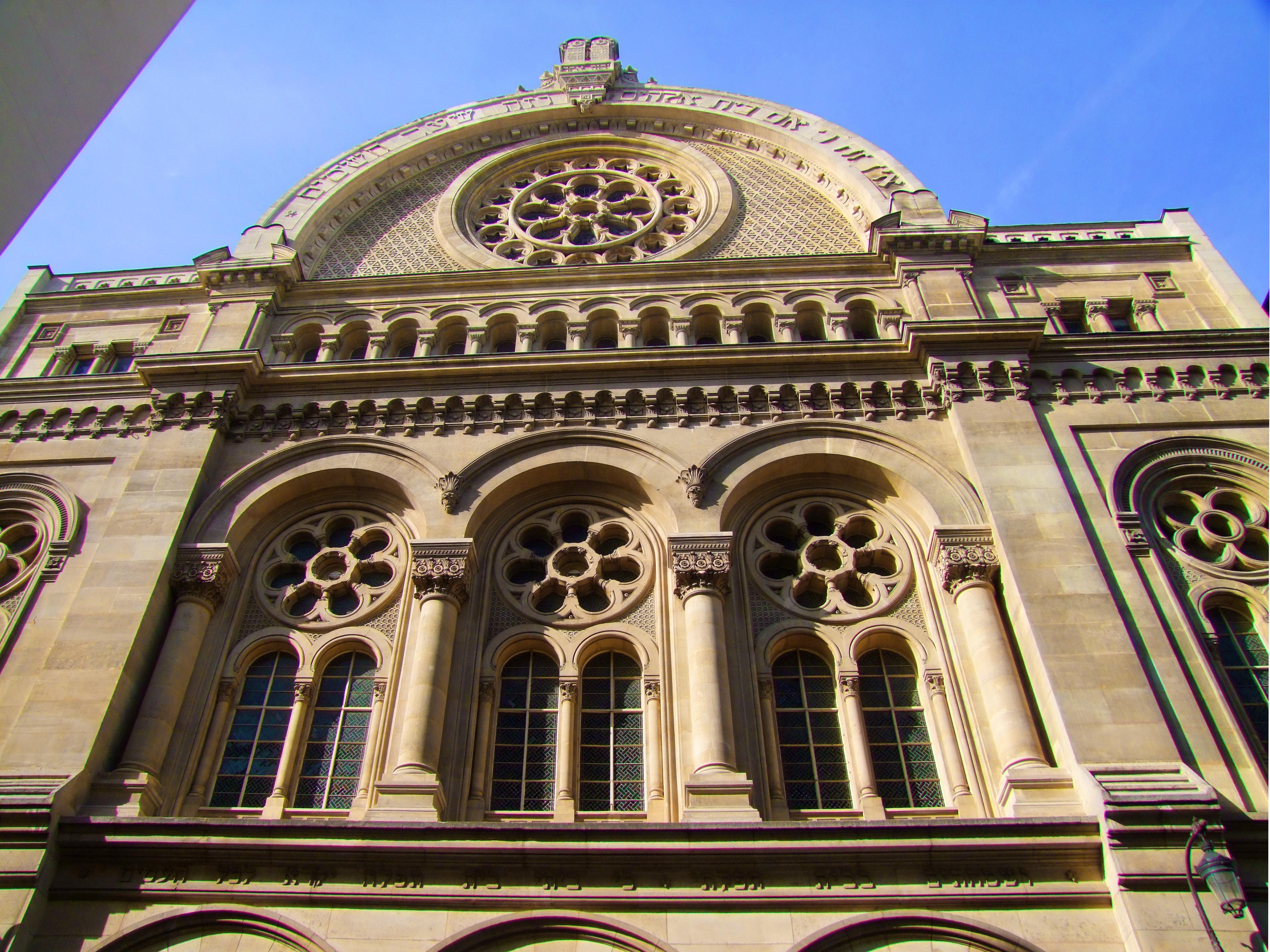 Façade Grande synagogue Paris
