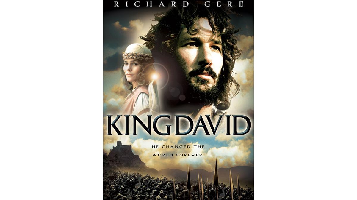Affiche film américain Richard Gere Roi David