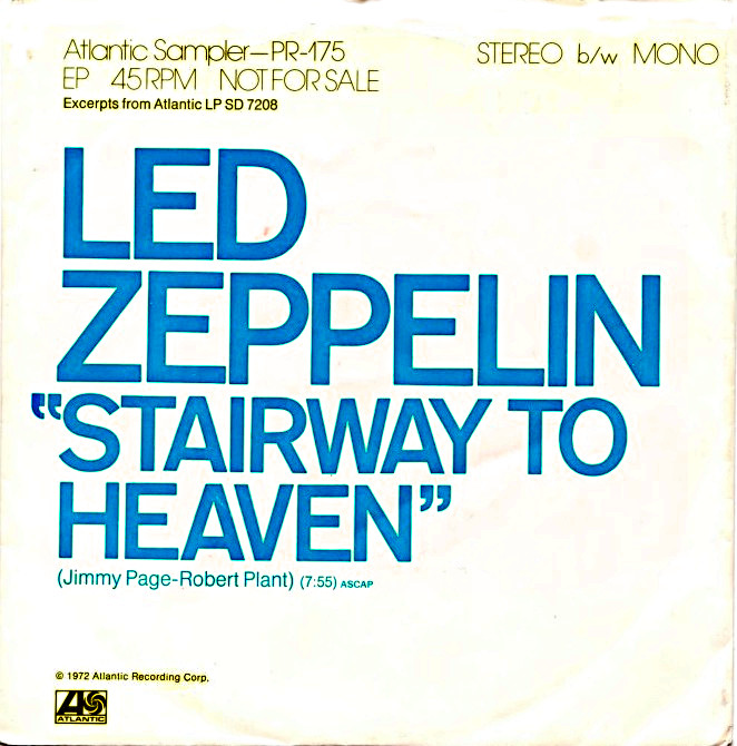 album couverture led zeppelin starway to heaven