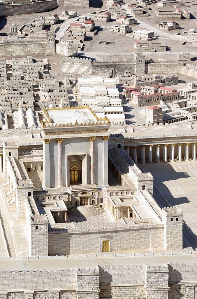 temple herode jérusalem maquette ancien histoire
