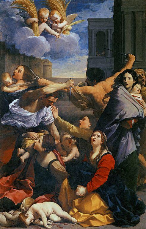 massacre innocents herode enfants ange Guido Reni