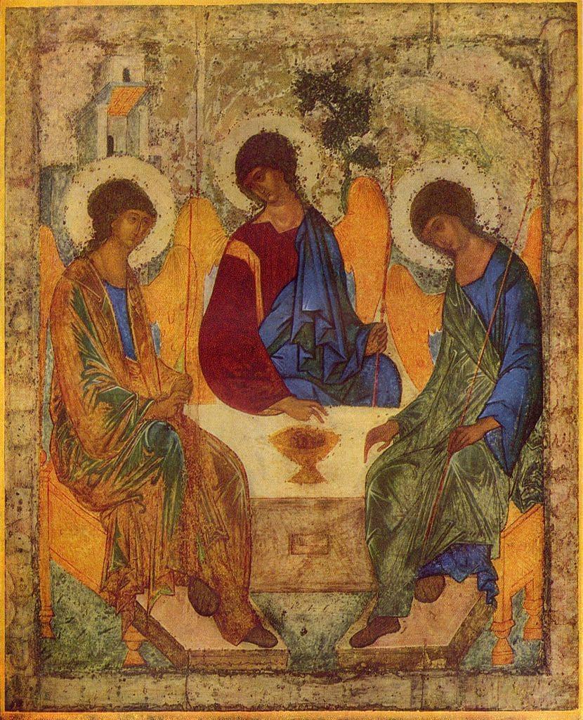 trinité roublev chérubins hymne chant orthodoxe