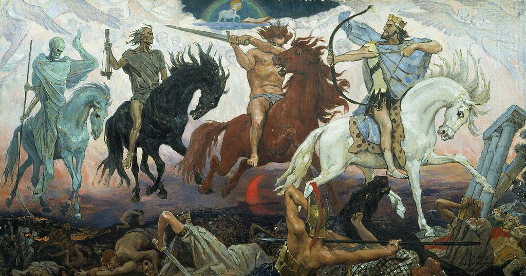 apocalypse chevaliers armée moyen age Vasnestov