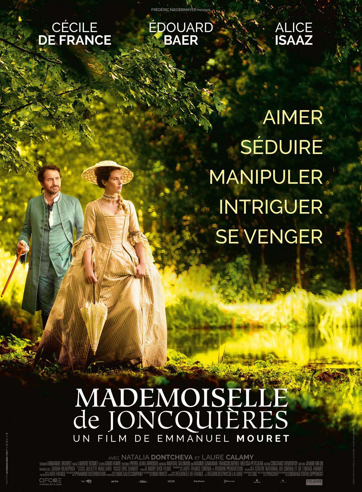 affiche film edouard baer alice isaaz cecile de france robe epoque