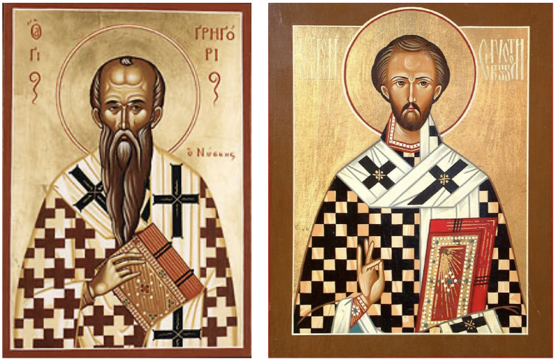 icone saint jean chrisostome grégoire de Nysse