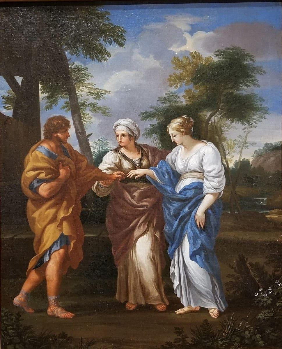 Mariage Jacob Rachel amour Musée d'Art John et Mable Ringling Pietro da Cortona