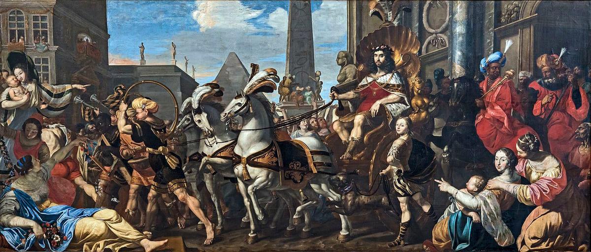 Triomphe de Joseph fils préféré adoré calèche Cathédrale Saint-Étienne de Toulouse Hilaire Pader