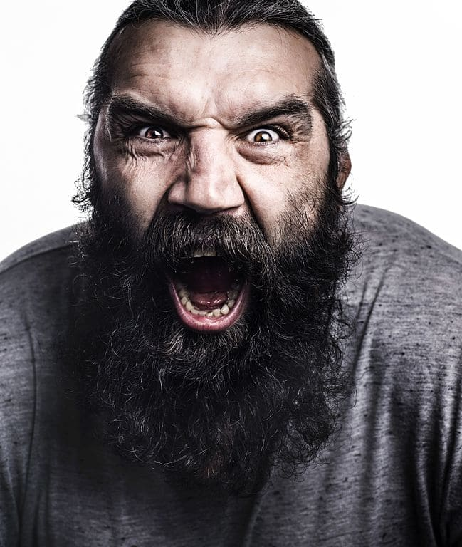 chabal face bouche ouverte barbe