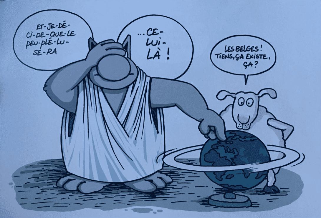 chat globe mouton