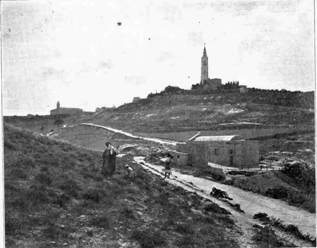Bethphagé Jérusalem-est chemin colline de l'Ascension Andrew Edward Breen