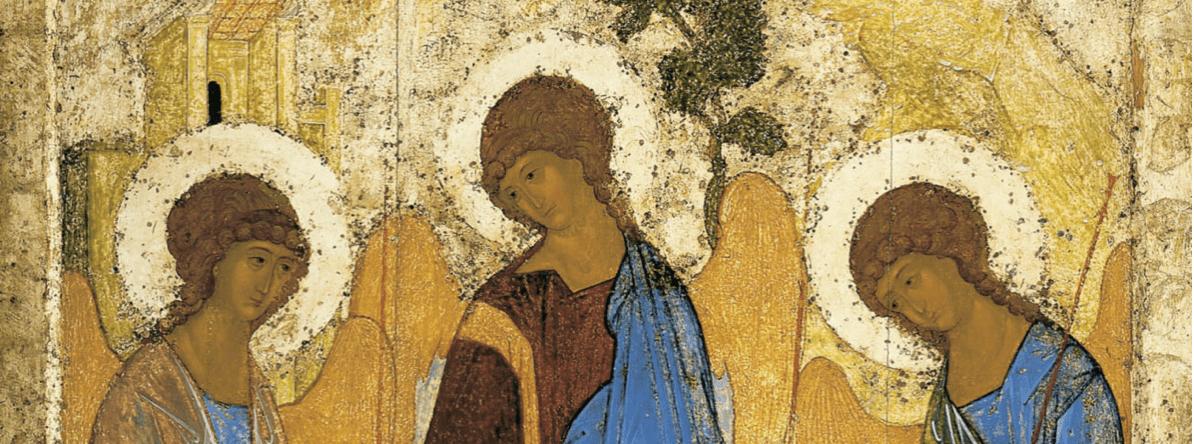 Trinité Ancien Testament bustes trois anges chêne de Mambré Andreï Roublev