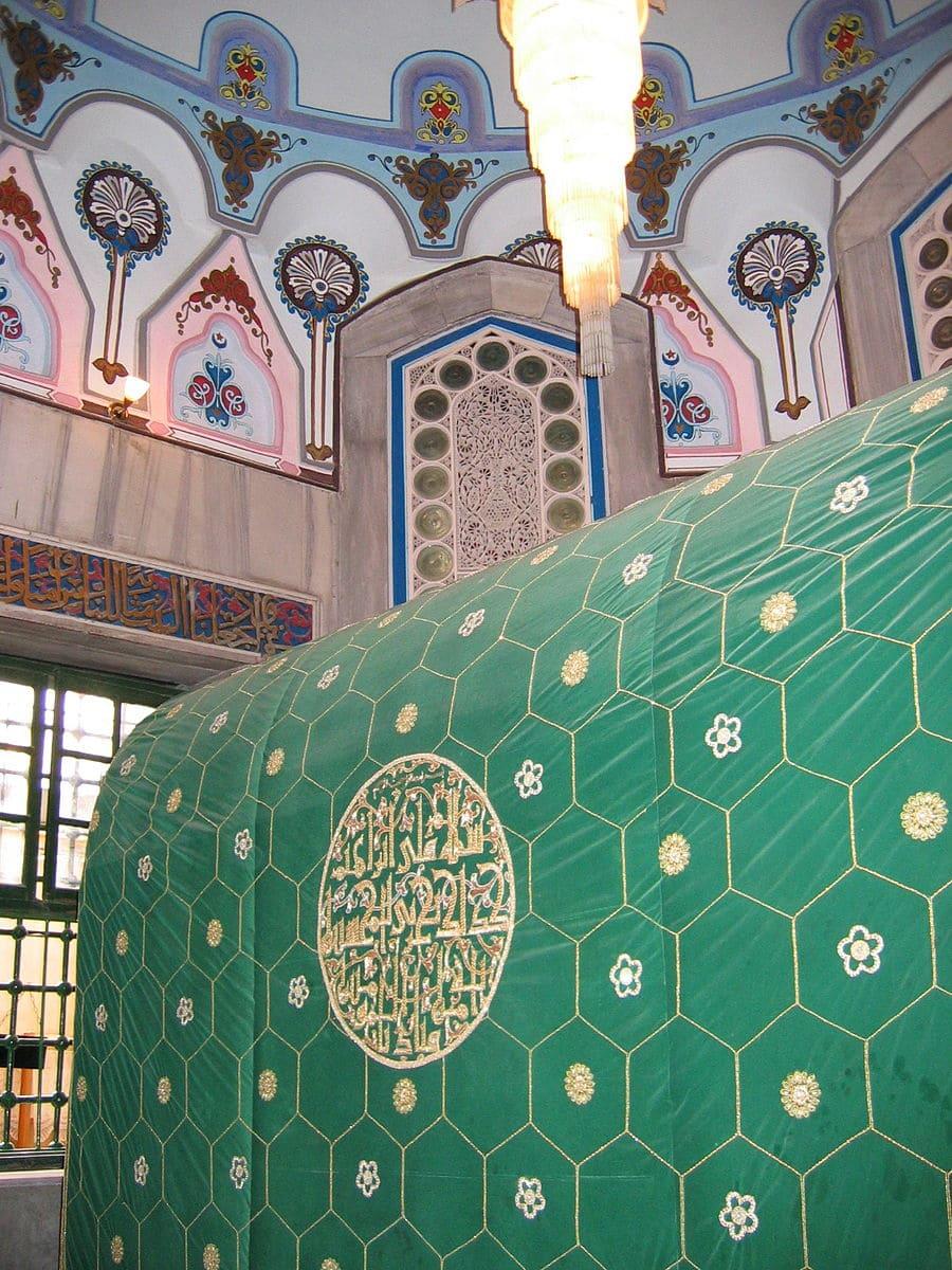 tombeau Abraham Hébron Bethléem vert pèlerinage