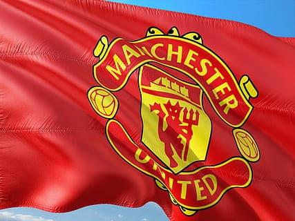 Diable emblème club football anglais Manchester United Red devils diables rouges