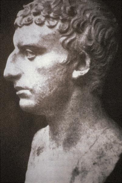Buste statue Flavius Josèphe profil