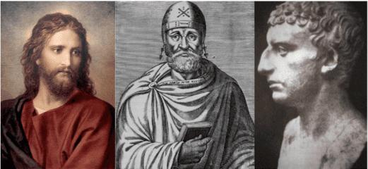 Portrait Jésus fils Dieu Philon philosophe juif Flavius Josèphe historiographe juif