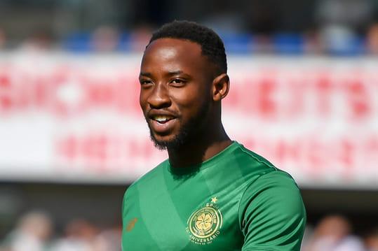 Moïse attaquant footballeur Olympique Lyonnais Moussa Dembélé