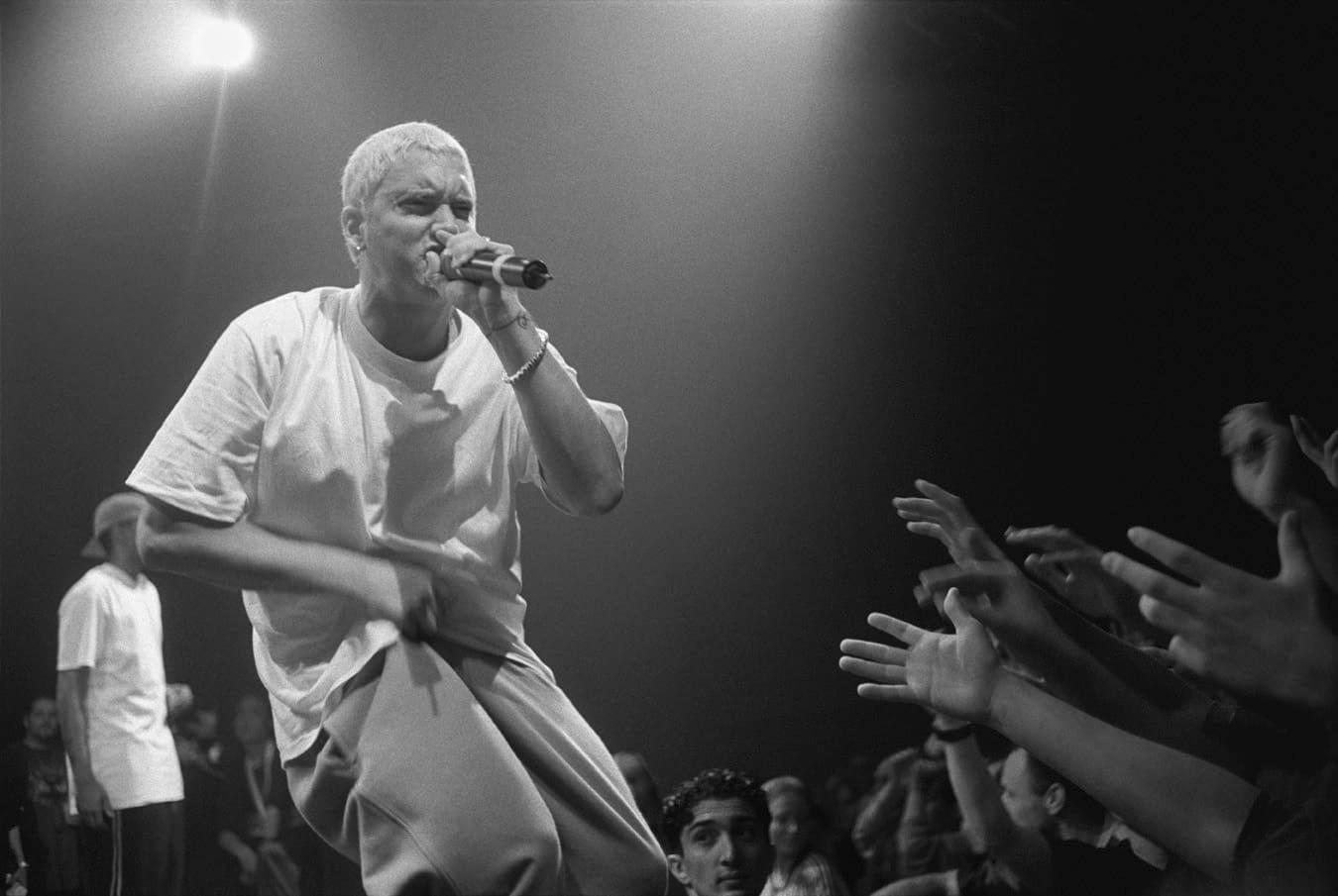 Musique rap américain concert Rap God Eminem