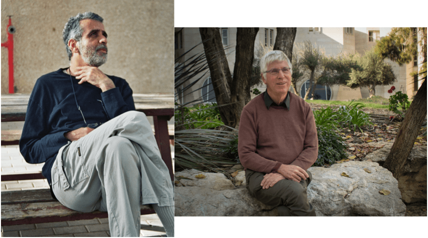 Archéologue Israël Finkelstein historien Amihai Mazar