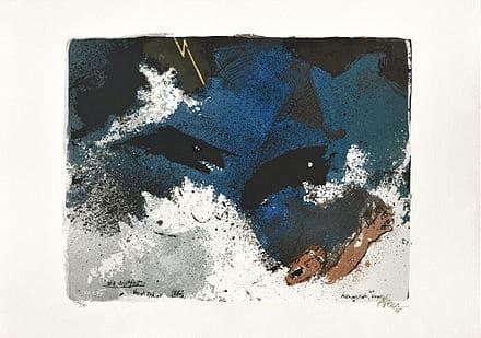 Le Déluge inondation bleu noir Noé Adi Holzer